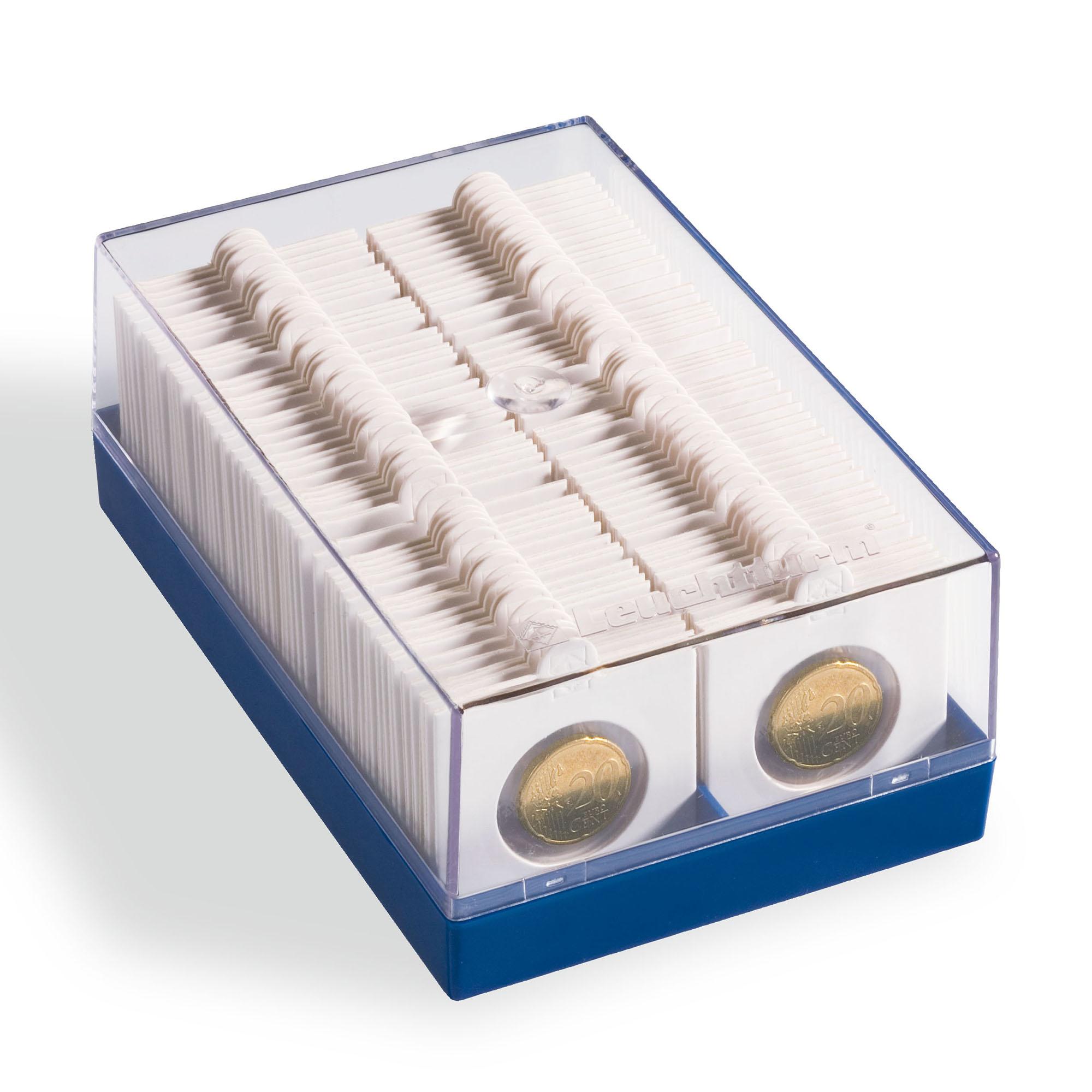 Коробка для 100 монет в холдерах