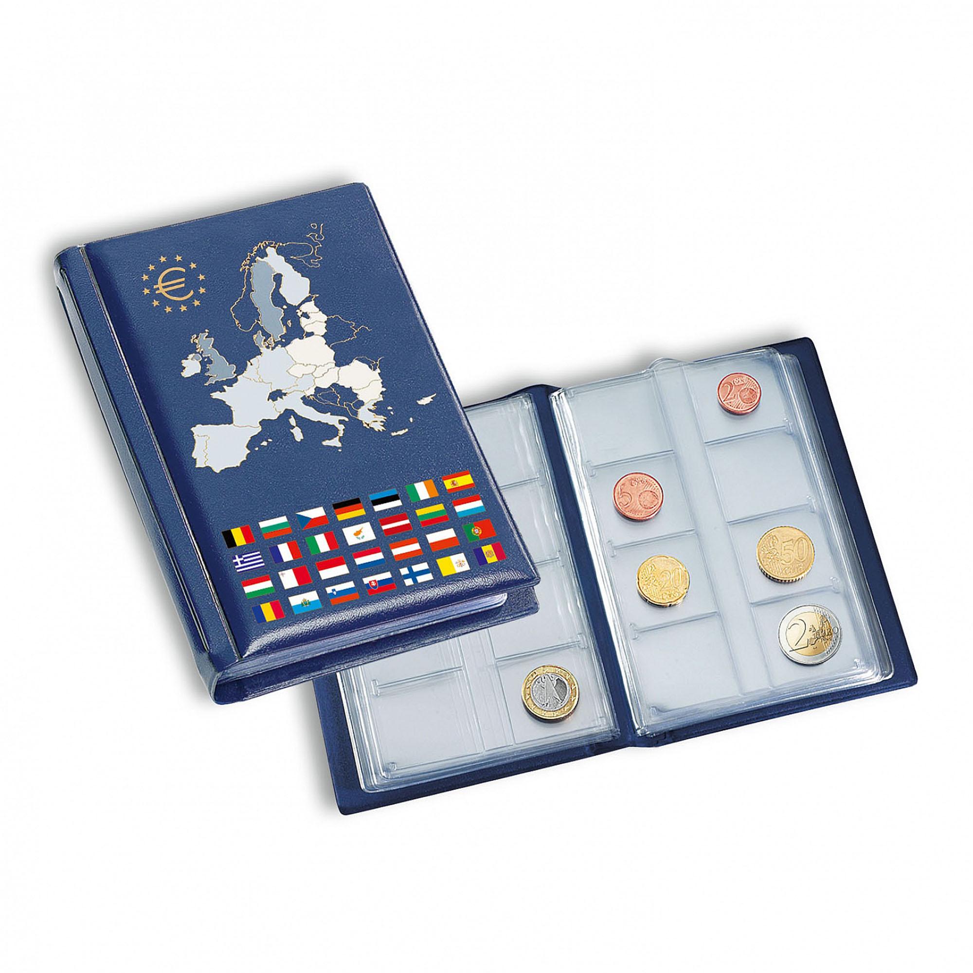 Карманный альбом для монет ROUTE Euro