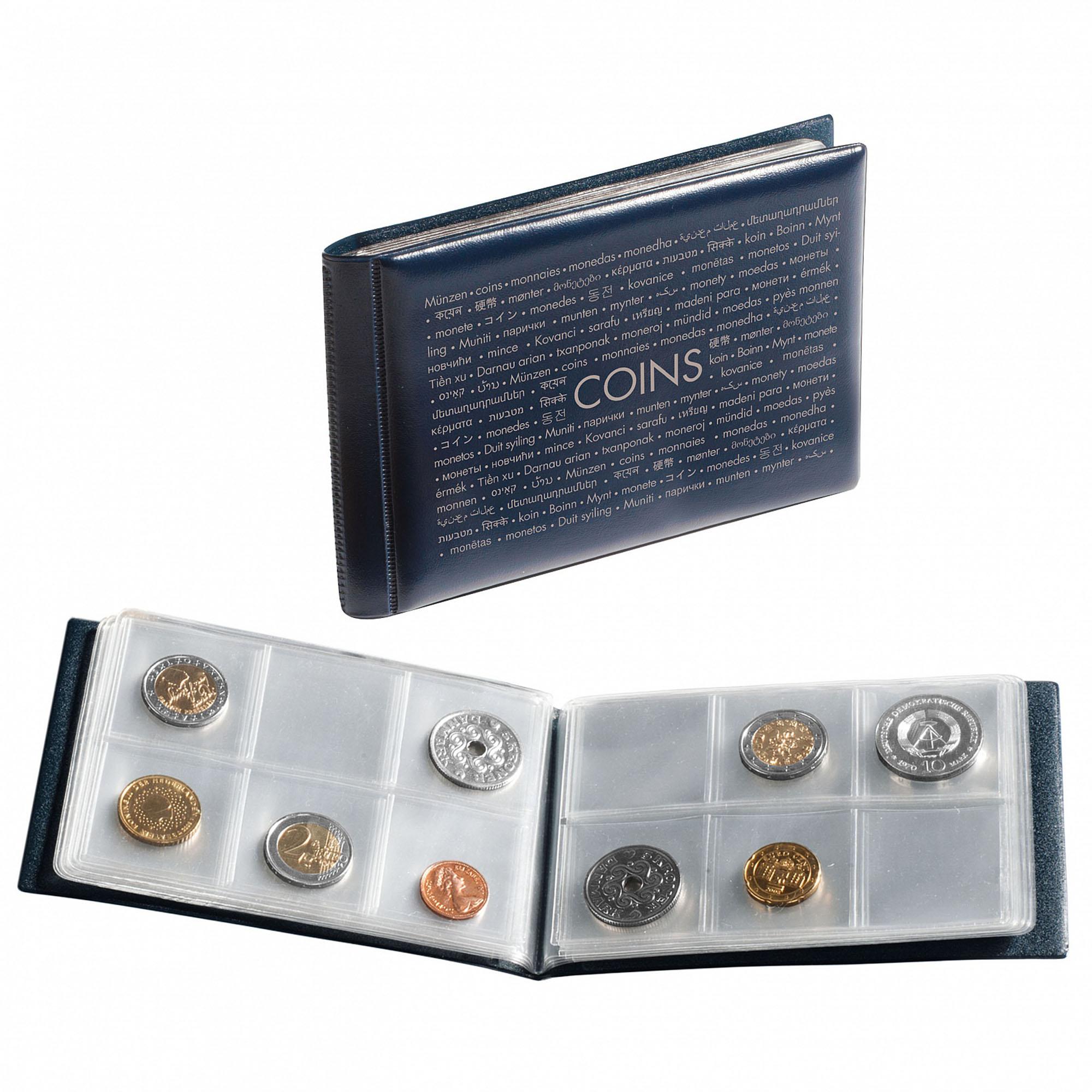 Карманный альбом для монет ROUTE 48