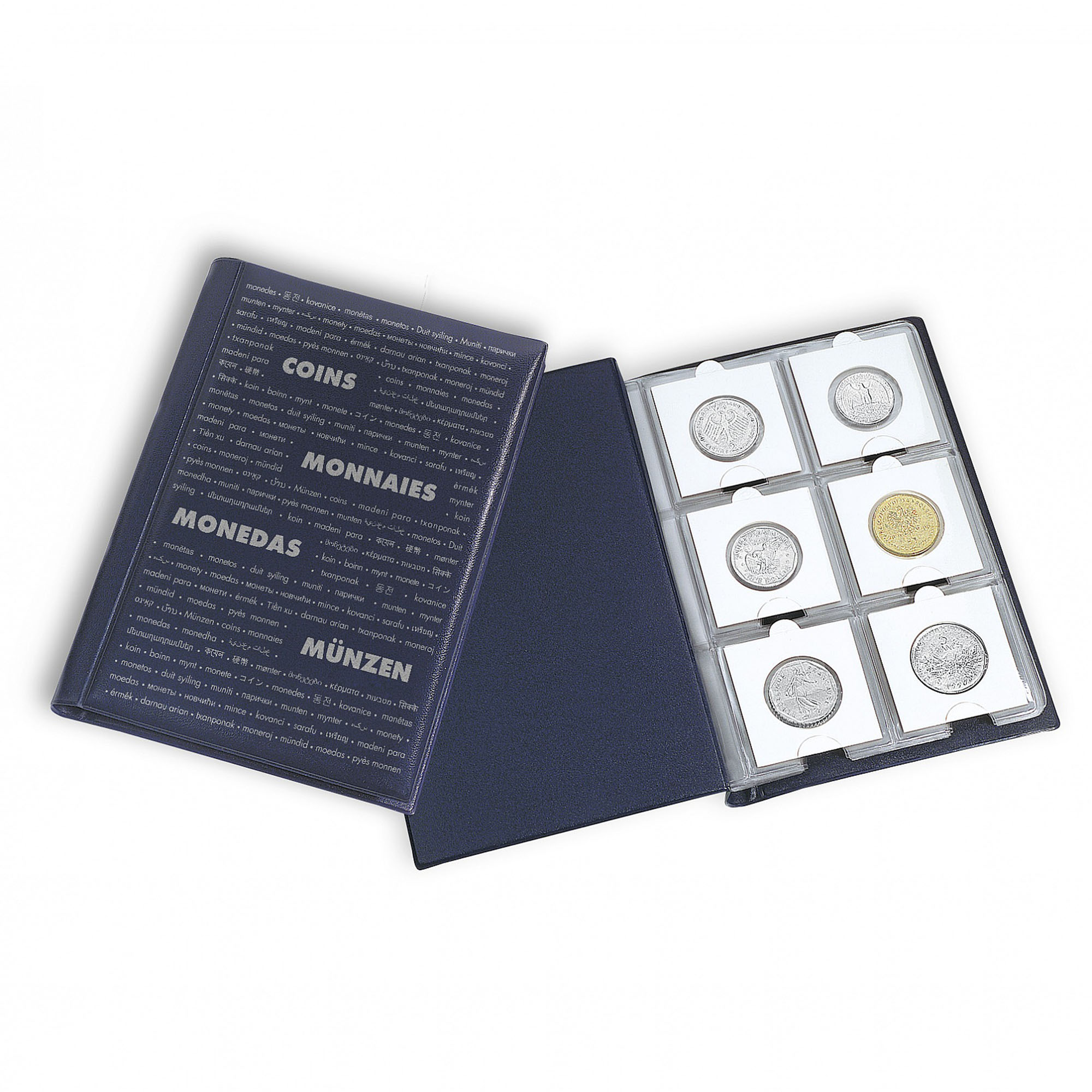 Карманный альбом для монет в холдерах ROUTE 60M