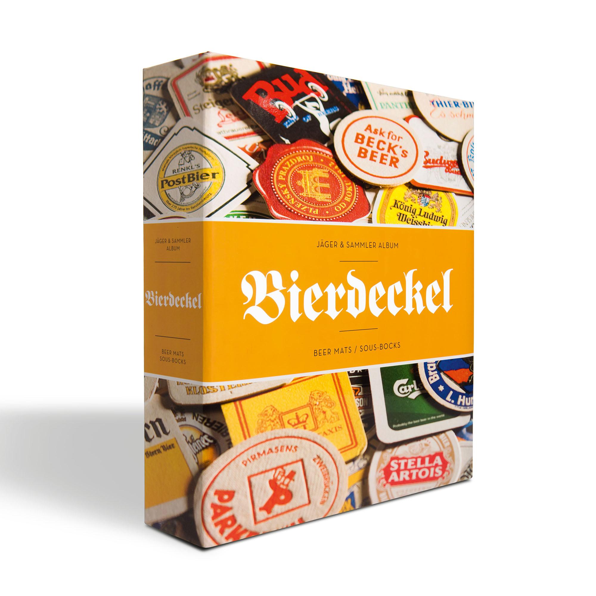Альбом GRANDE Bierdeckel для бирдекелей (пивных подставок)
