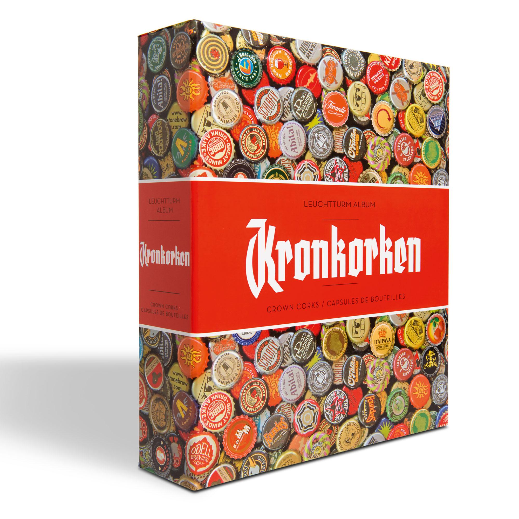 Альбом GRANDE Kronkorken для крончатых колпачков (пивных пробок)