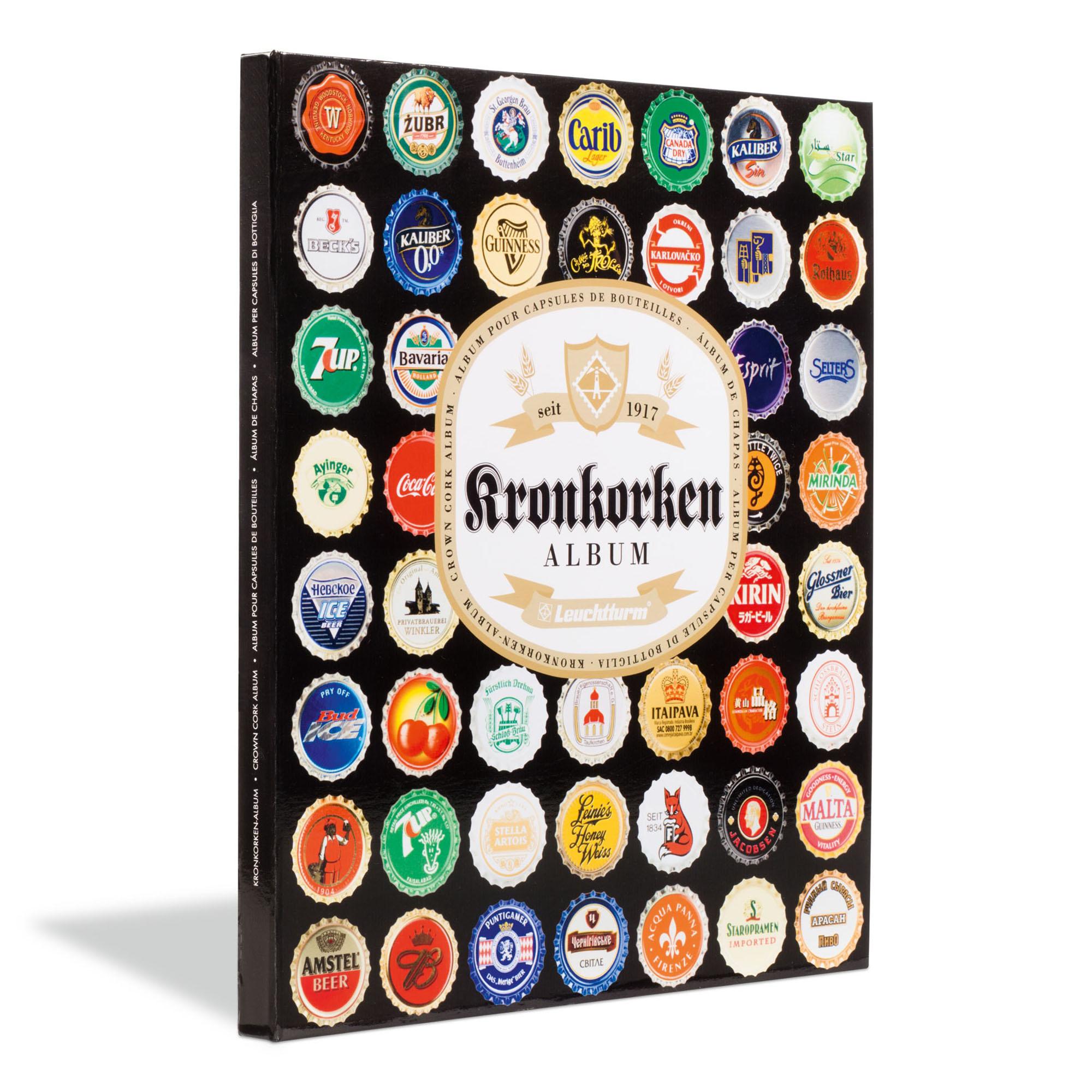 Альбом PRESSO Kronkorken для 64 пивных пробок