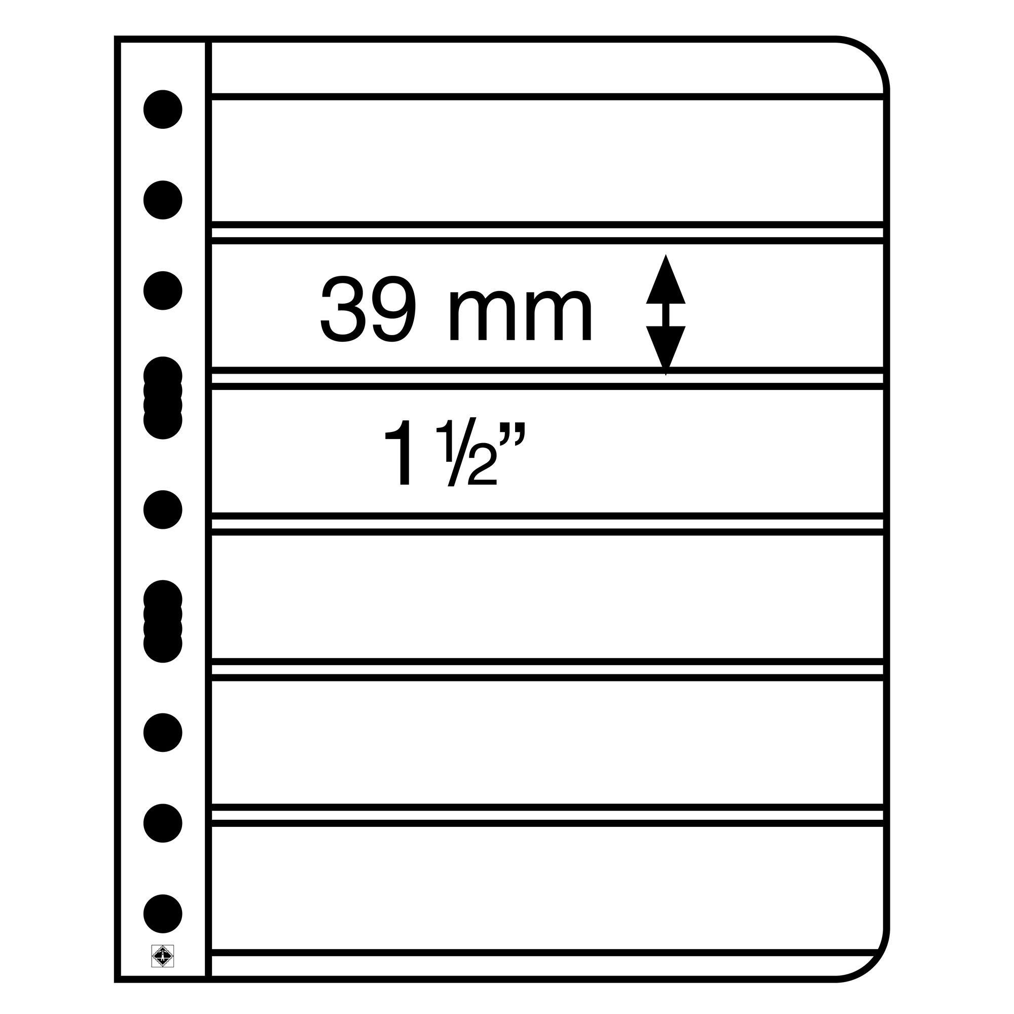 Лист для марок VARIO 6S