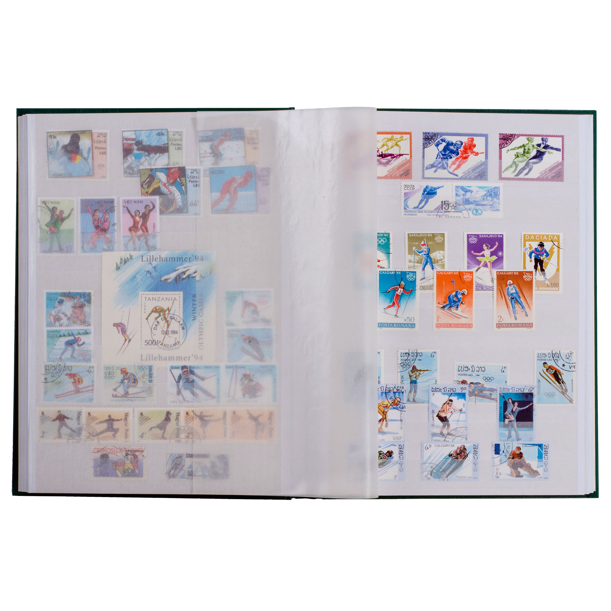 Альбом для марок (кляссер) BASIC W64