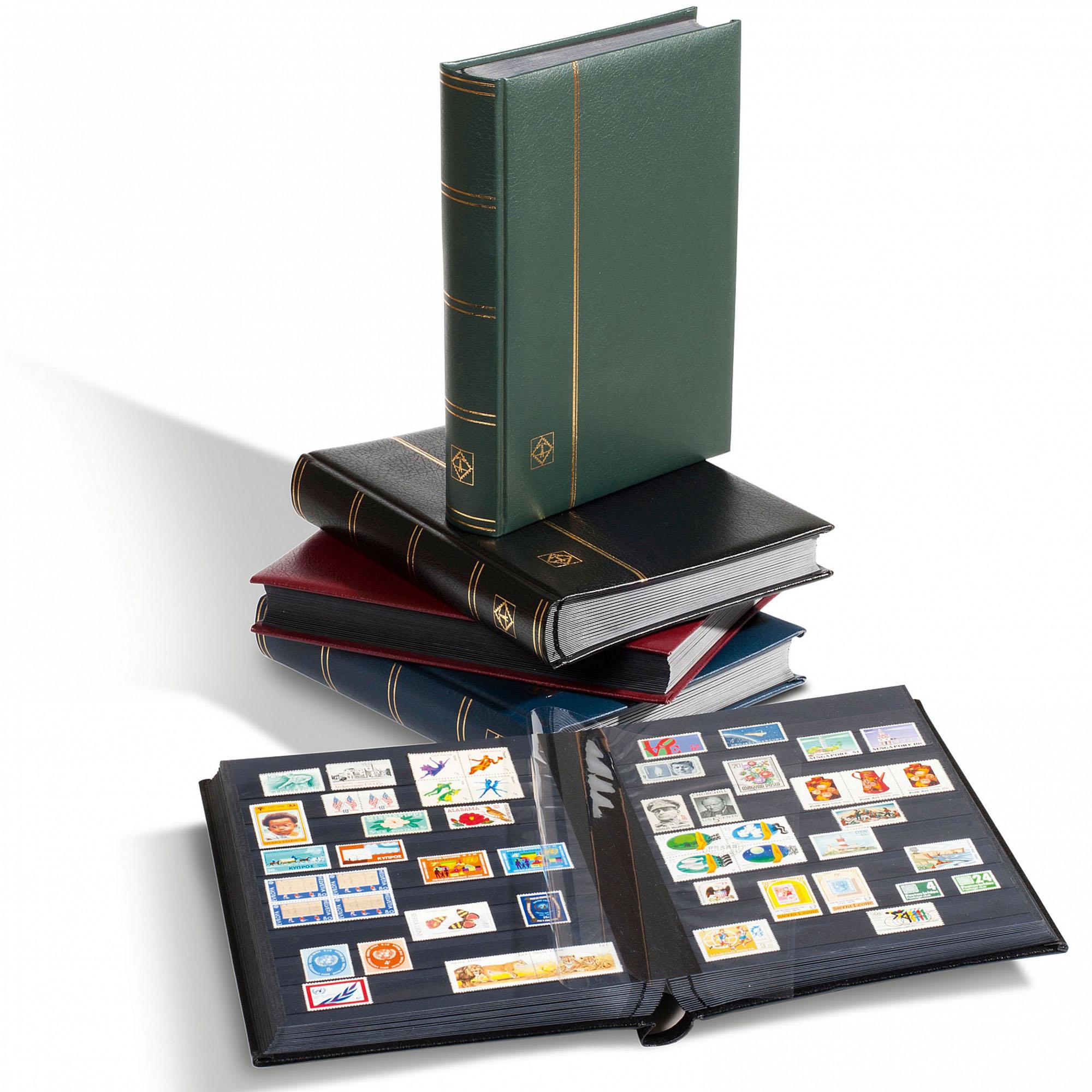 Альбом для марок (кляссер) PREMIUM S64 в футляре