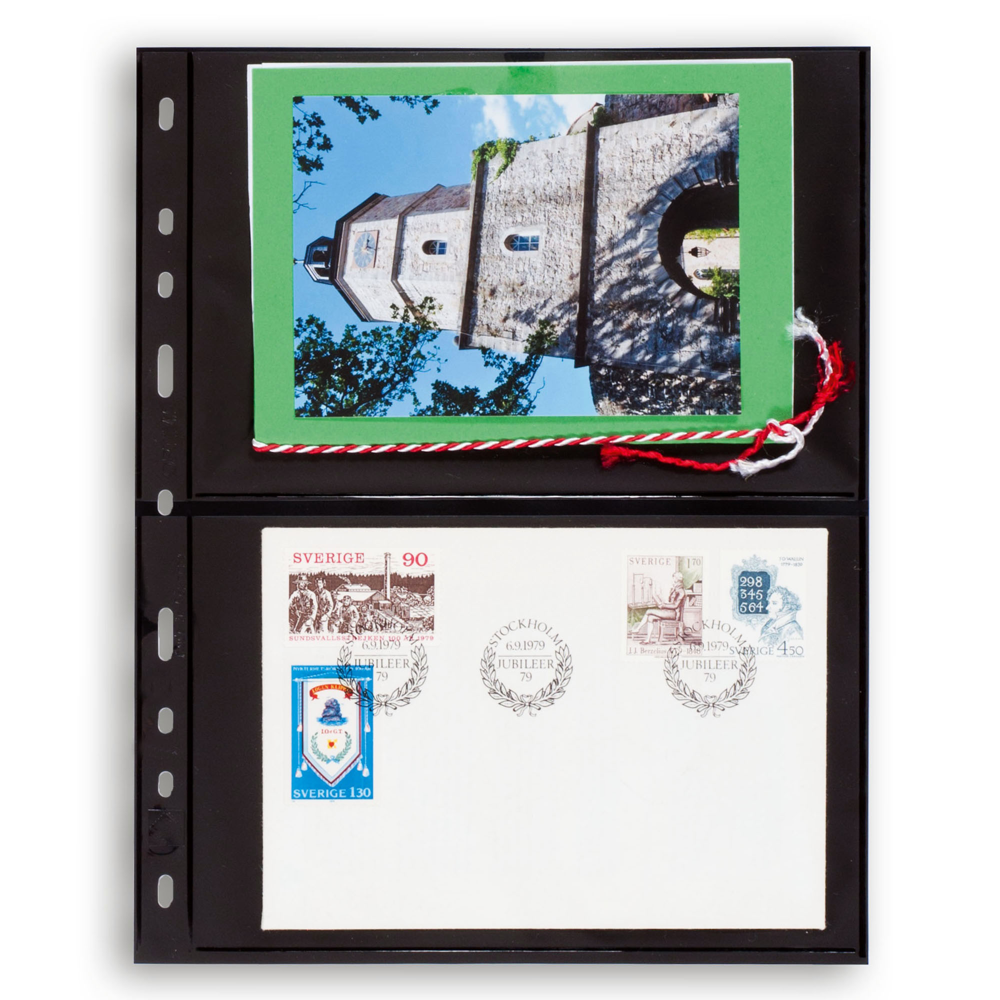Лист для марок OPTIMA 2S