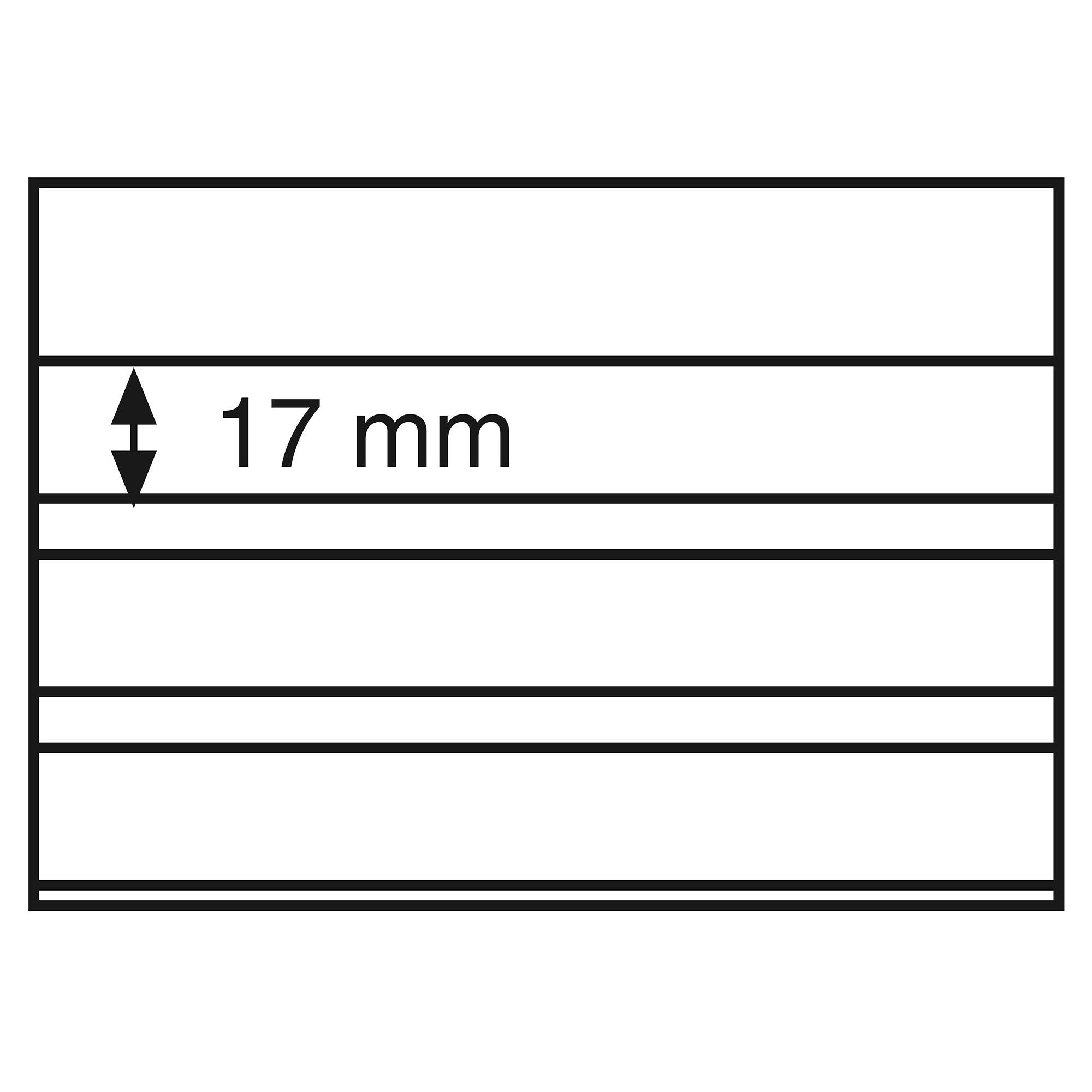 Планшет для марок на 3 полоски Standard 148x105 мм