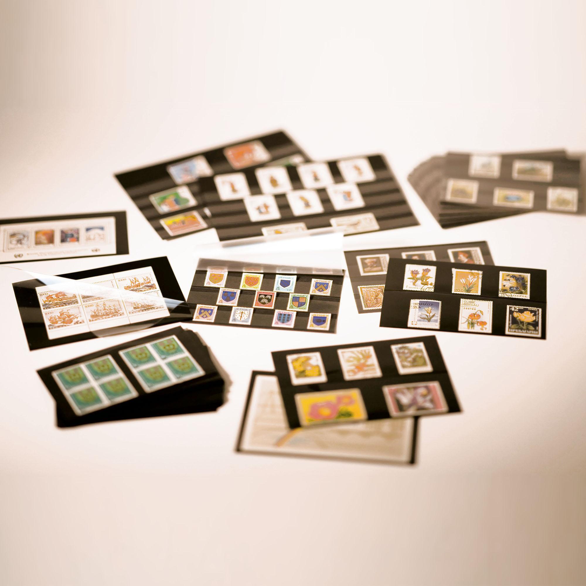 Планшет для марок на 4 полоски Standard 210x148 мм