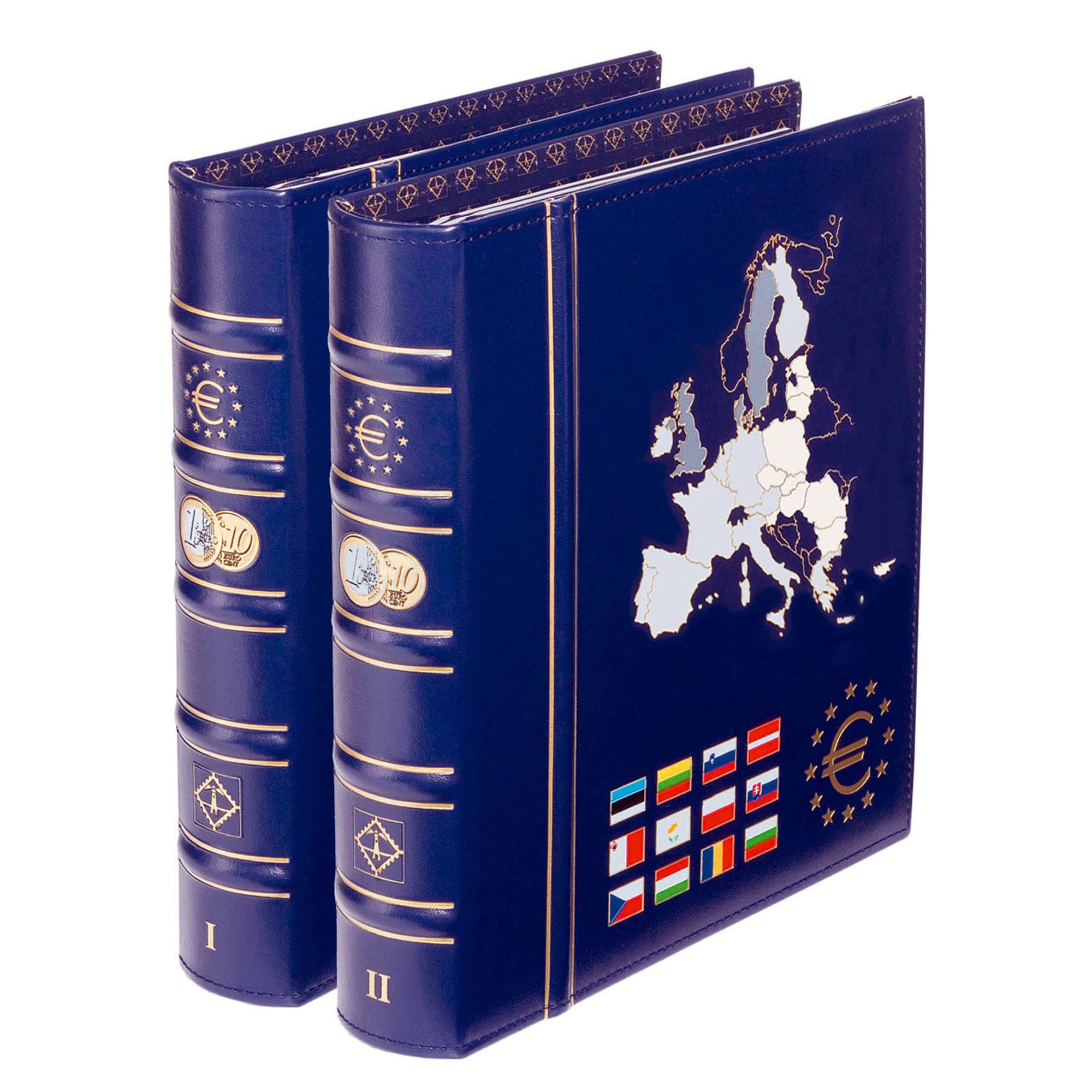Альбом для монет VISTA Euro в 2-х томах