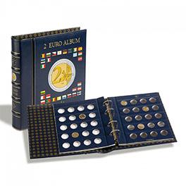 Альбом для монет VISTA 2 Euro в футляре