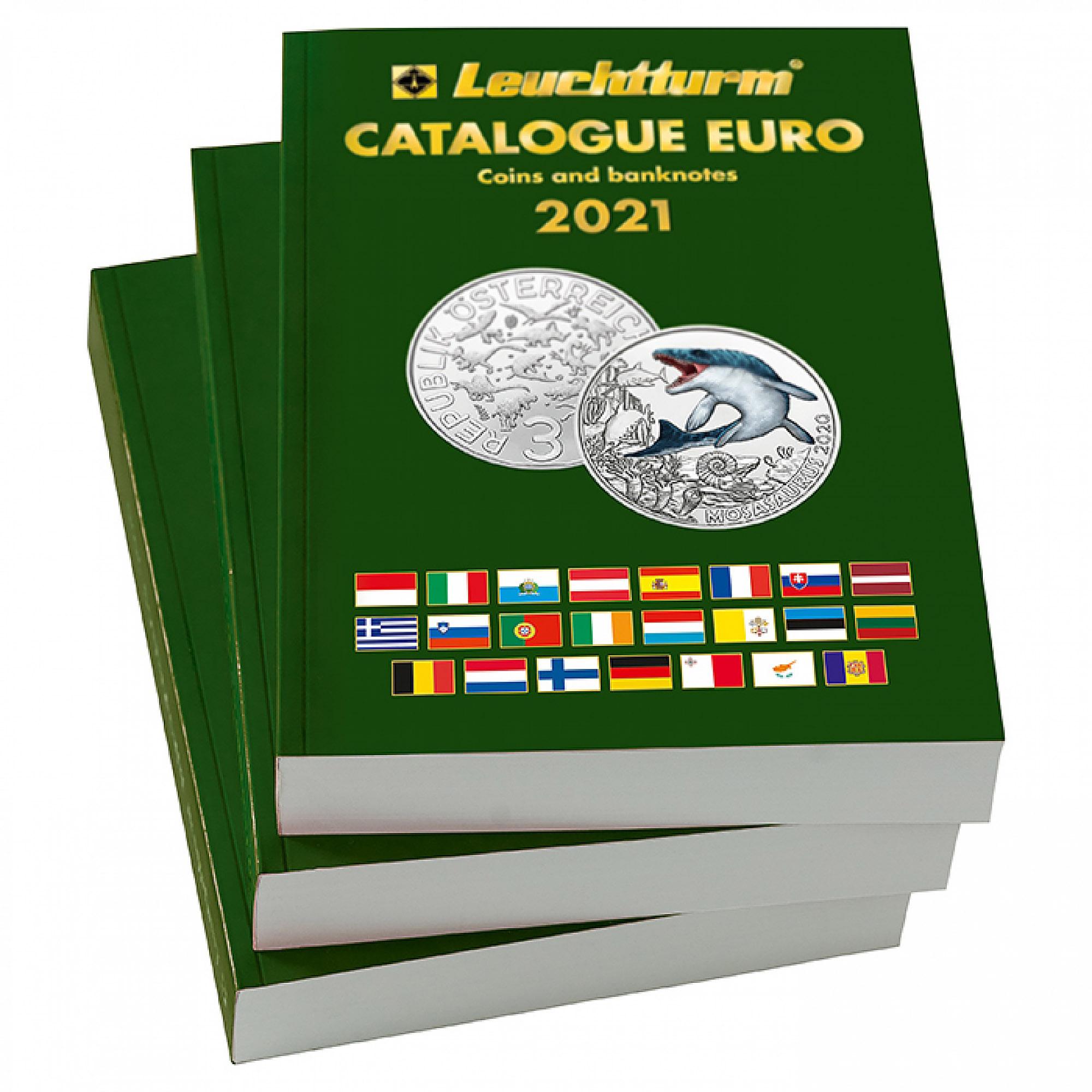 Каталог монет и банкнот Евро 2019