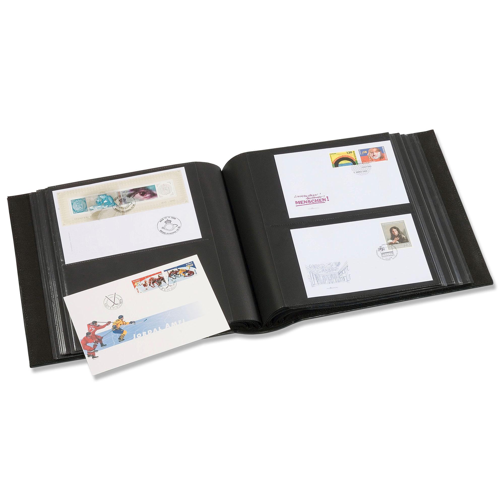 Альбом для 200 писем и конвертов первого дня в футляре