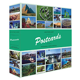 Альбом для 600 открыток POSTCARDS