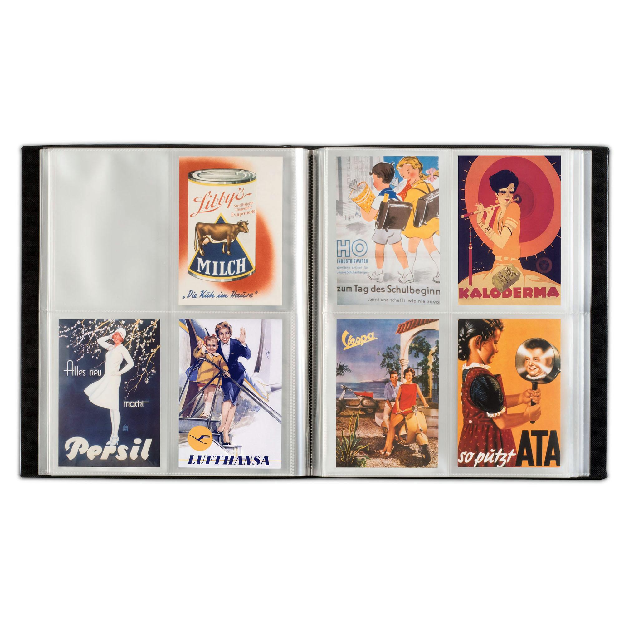 Альбом для 400 почтовых открыток