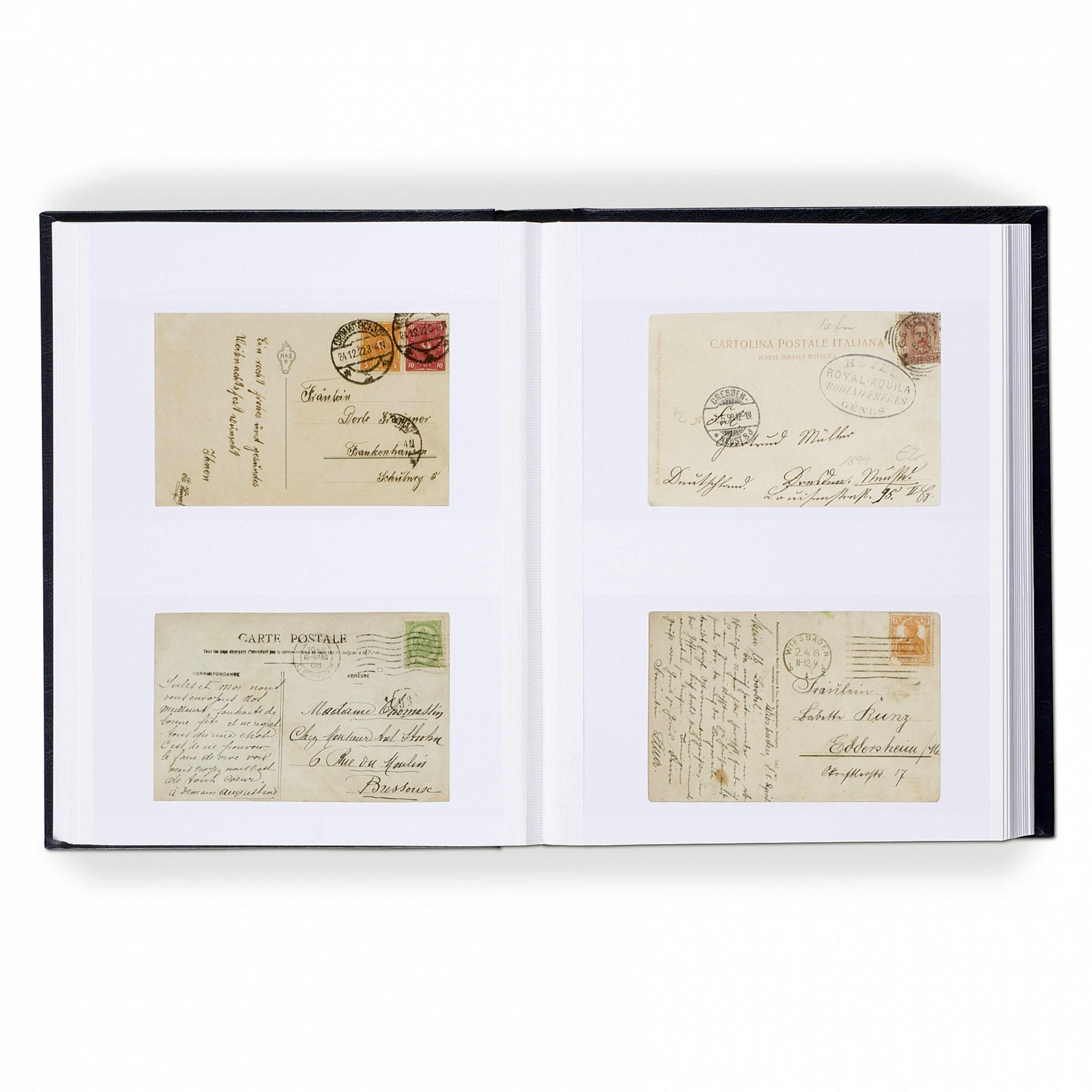 Альбом (кляссер) для 128 писем и почтовых открыток