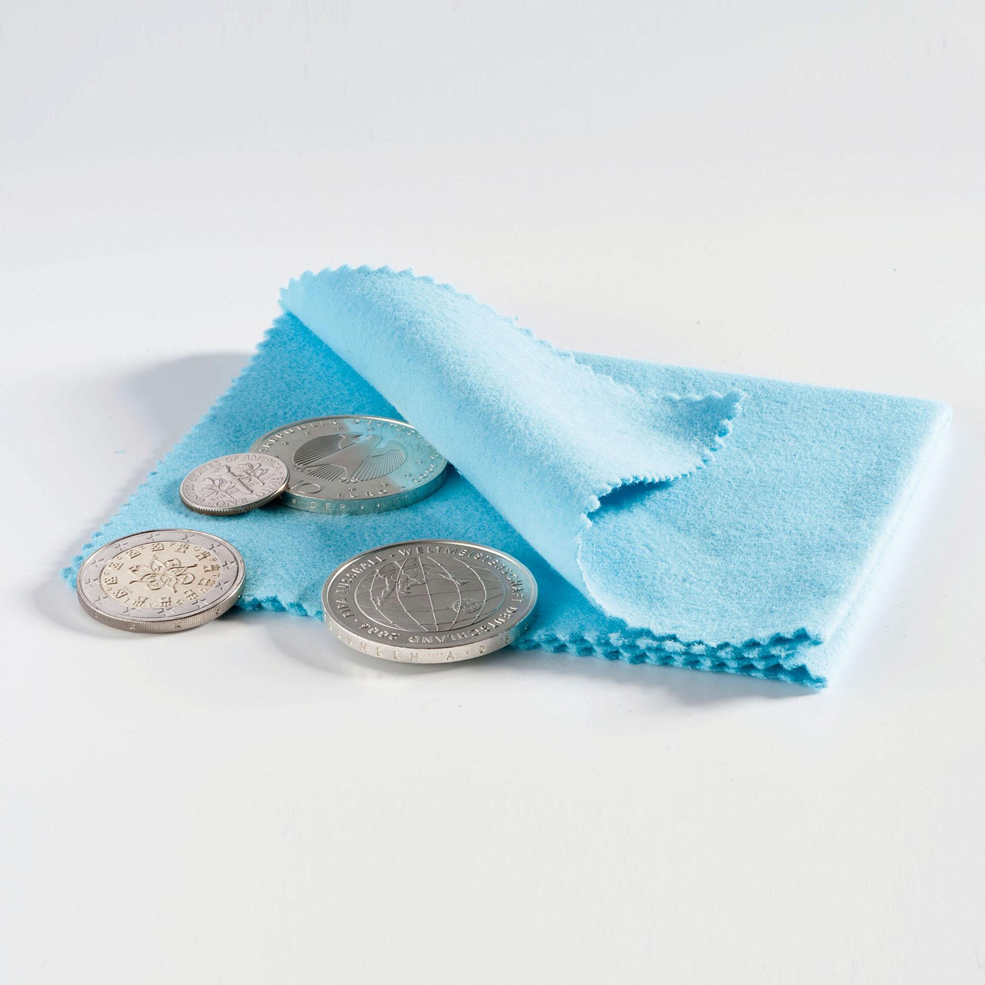 Салфетка для полировки монет 10*10 см